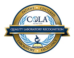 On Laboratory Accreditation COLA