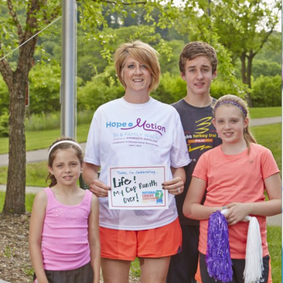 Hope in Motion Survivor Story: Angie Keiser