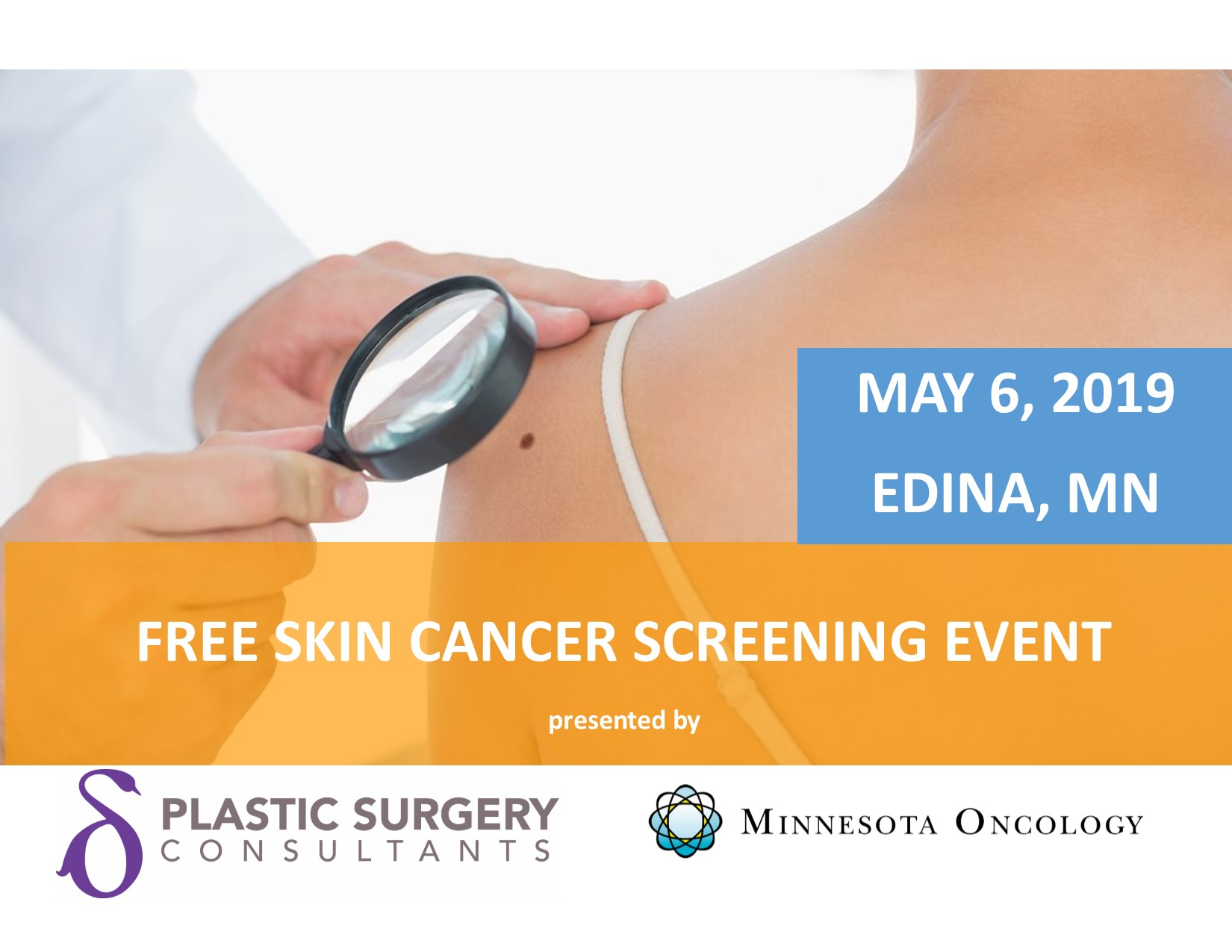 Screen the Skin You're In - Free Melanoma Screening on 5/6